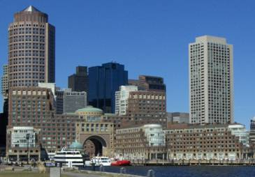Rowes Wharf on the Boston Waterfront